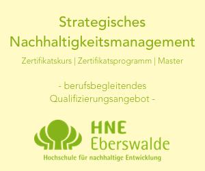 Strategisches Nachhaltigkeitsmanagement