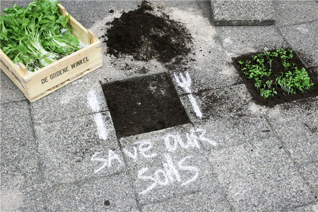 Save Our Soils, eine Kampagne von Volkert Engelsman © Save Our Soils