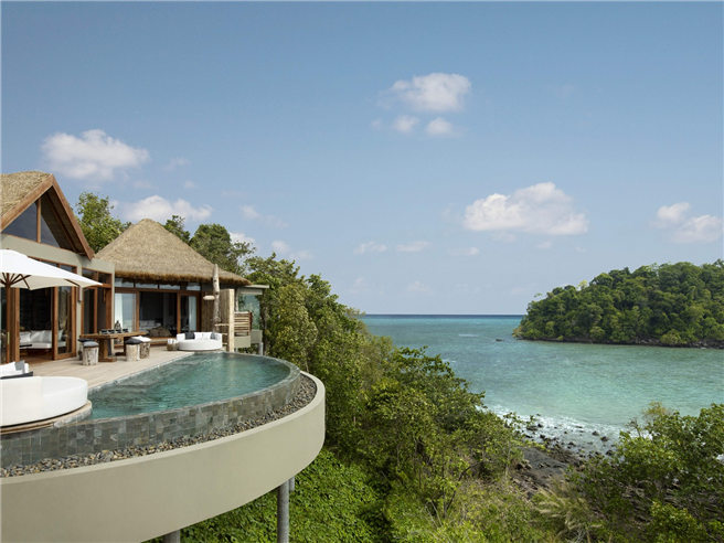 Ausblick vom Hotel. © Song Saa Hotels and Resorts