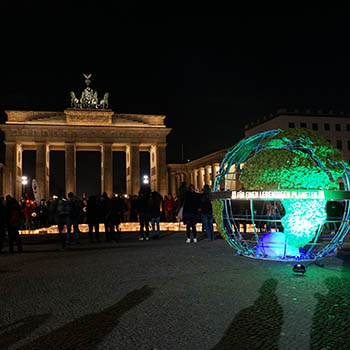 Earth Hour 2016 in Berlin © Robert Guenther / WW